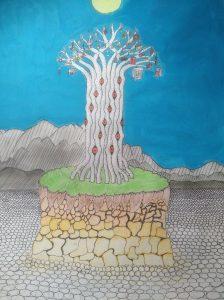 risba drevesa