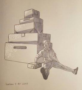 izmučen delavec