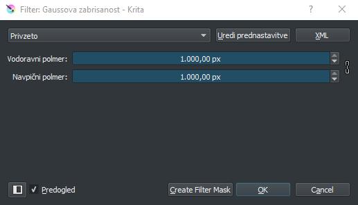 filter zabrisanosti v Kriti