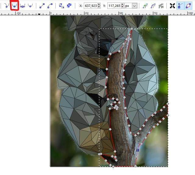 orodje v Inkscape-u