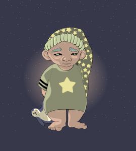 ozadje z zvezdami